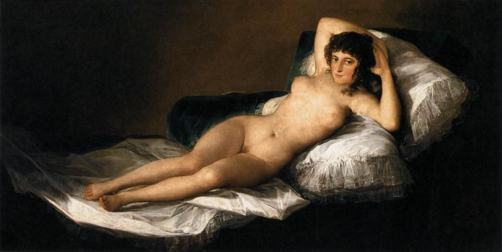 Красивое женское тело в изобразительном искусстве
