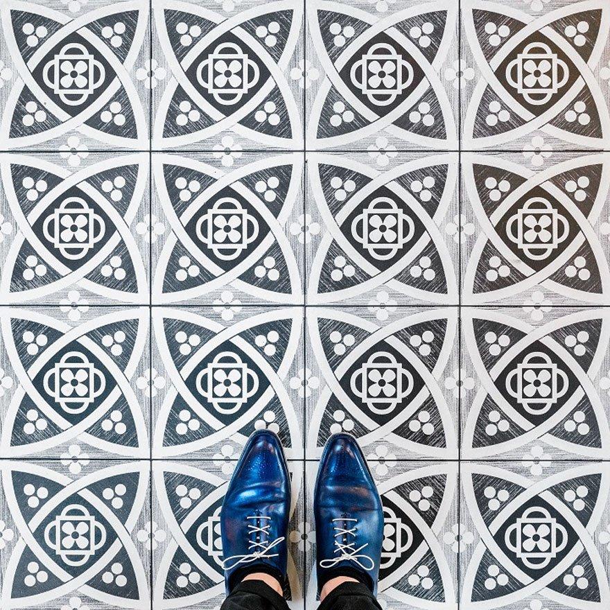 Мозаичные узоры на полах Каталонии в фотопроекте Себастьяна Ерраса