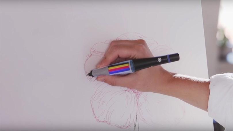 Необычная ручка Scribble Pen с 16 миллионами оттенков