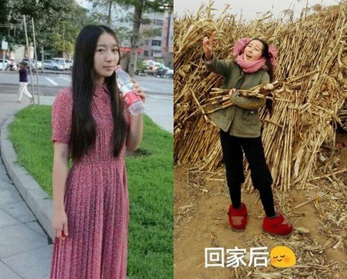 Обычные горожане и простые крестьяне из китайских деревень
