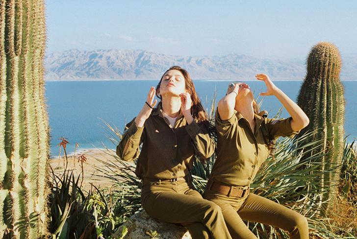 Повседневная жизнь девушек израильской армии