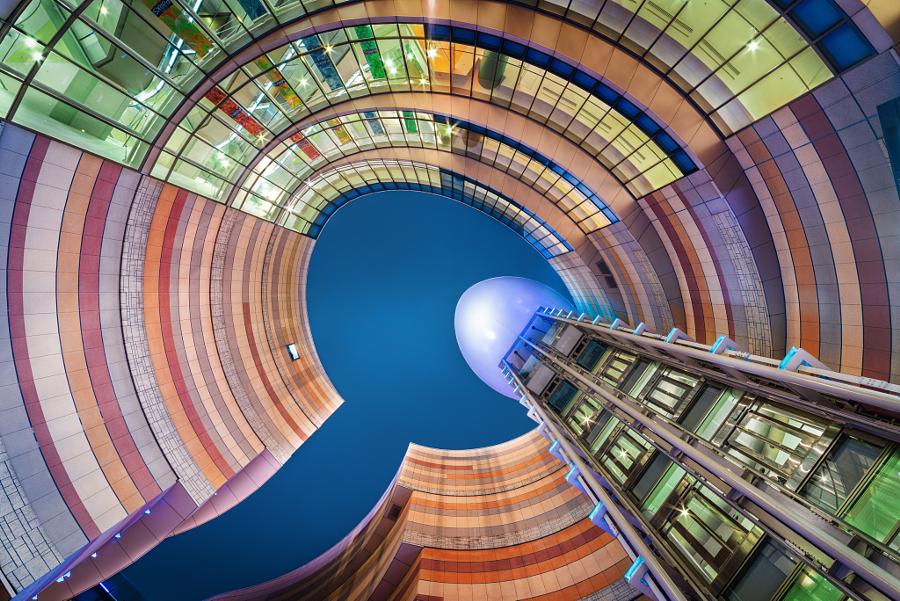 Яркие архитектурные фотографии от Питера Стюарта