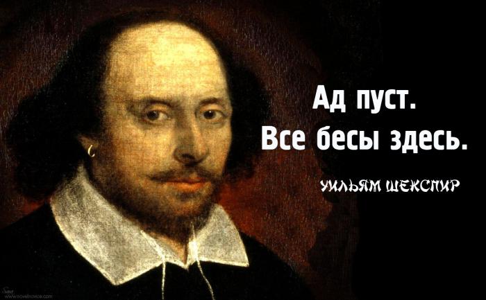 20 цитат великого Шекспира, которые актуальны и сегодня