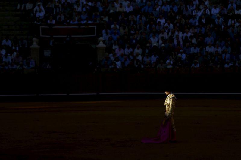 Атмосферные фото матадоров после корриды