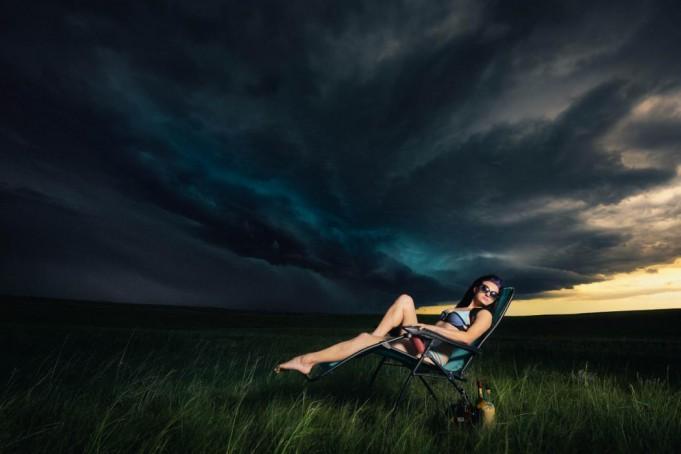 Фотопроект — охотники за штормом