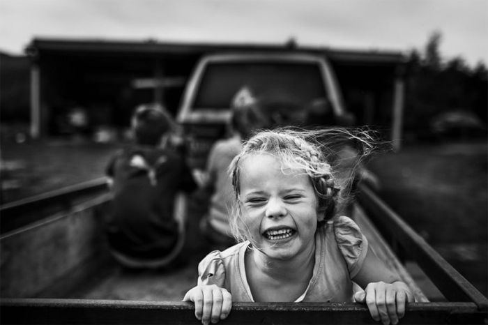 Мама-фотограф снимает жизнь своих детей без современных гаджетов