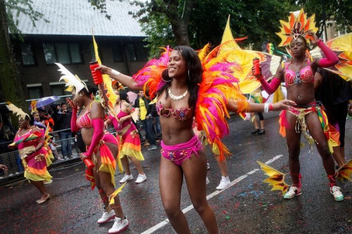 Ноттинг Хилл карнавал в Лондоне