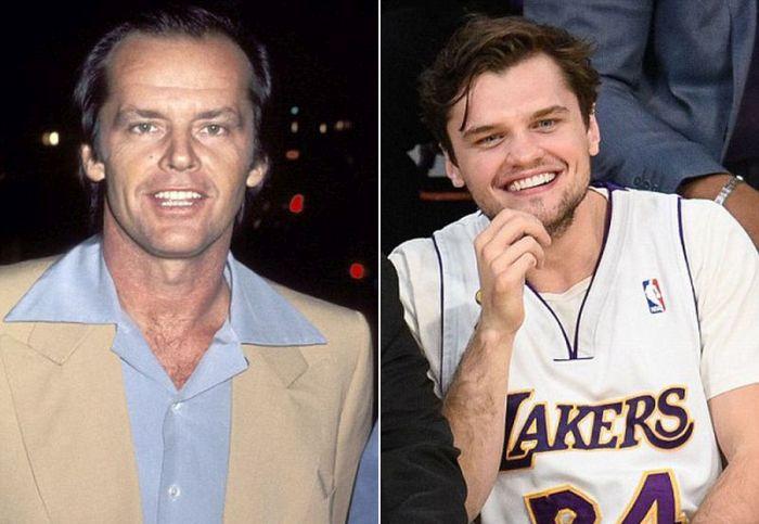 Сыновья знаменитых отцов, которые очень на них похожи