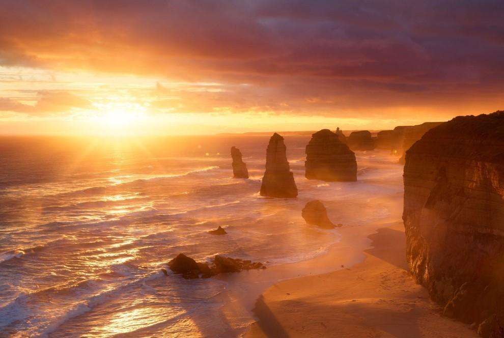 20 живописных мест в лучах солнца из разных уголков мира