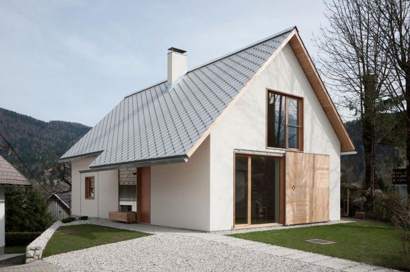 Частный домик в альпийской деревне