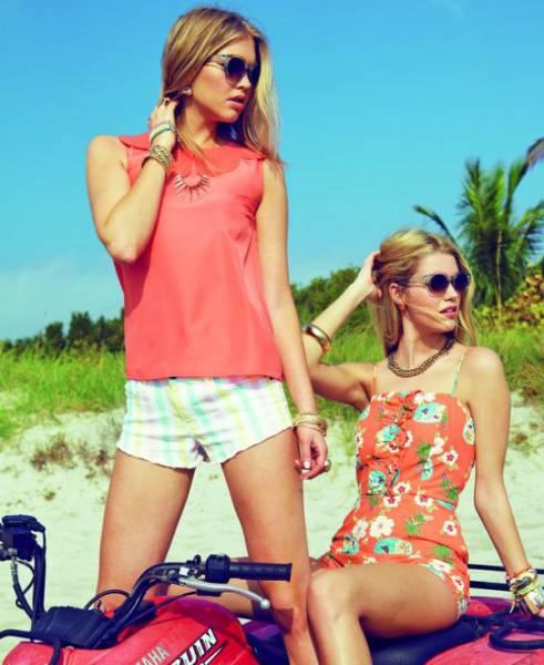 Красивые девушки на квадроциклах