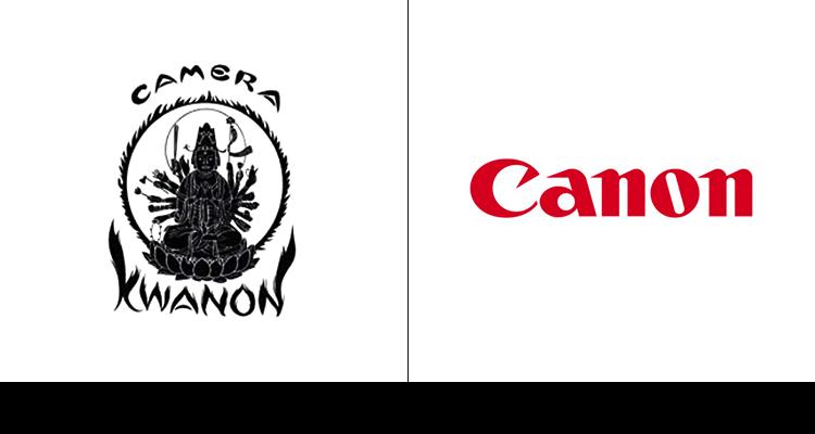 Логотипы известных брендов в начале их карьеры