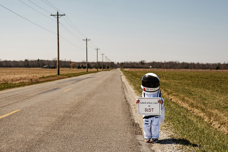 Немного детского восхищения и костюм космонавта
