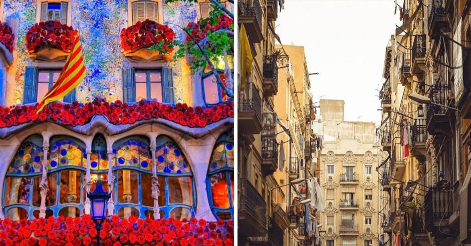 Неповторимая красота Барселоны