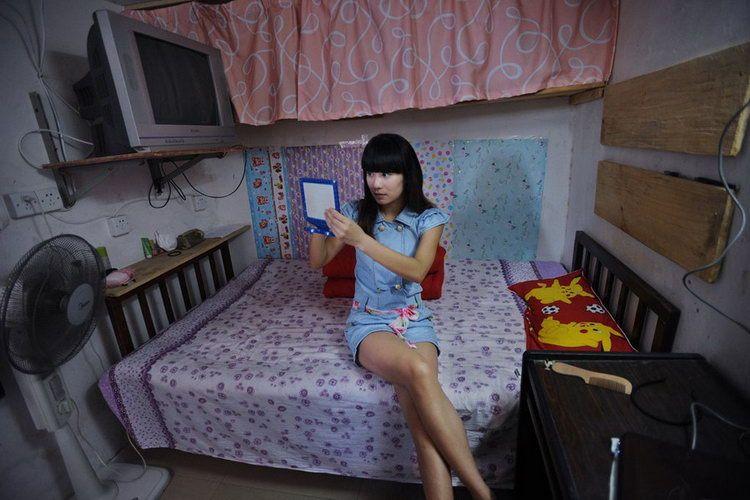 Особенности китайской квартиры: душ, туалет и спальня в одной комнате