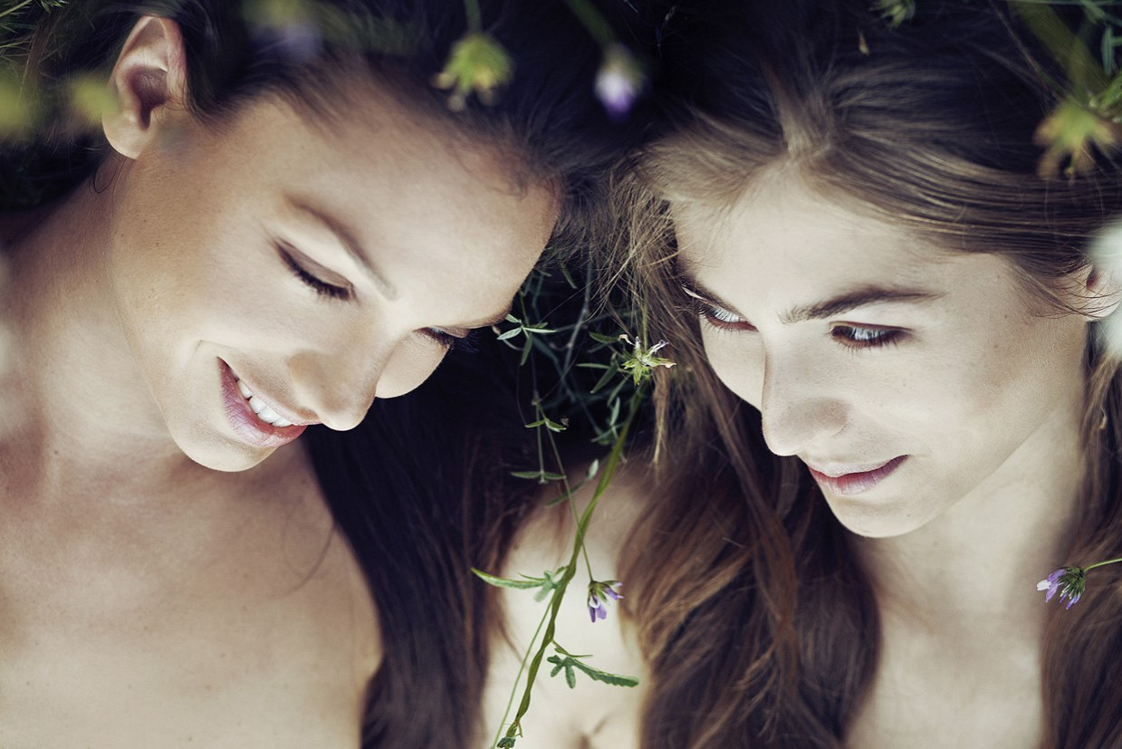 Прекрасные обнажённые девушки на фотографиях от Неринги Рекашюте
