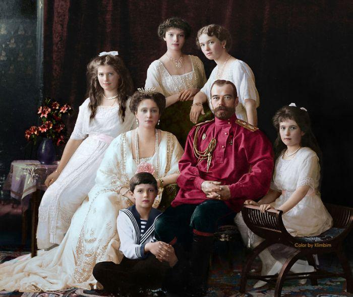 Раскрашенные фотографии России и СССР 1900 — 1965 гг.