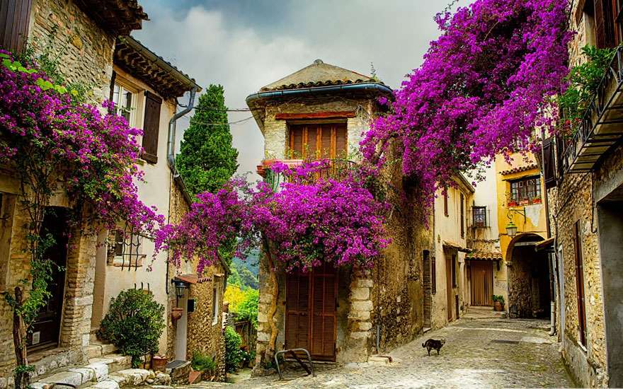 Сказочные городки и живописные деревни в разных уголках мира
