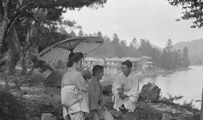 Япония в 1908 году от Арнольда Генте