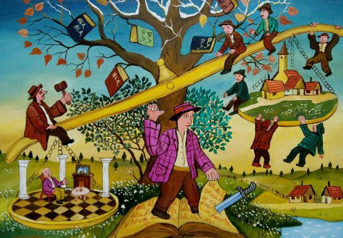 Забавные и душевные ситуации из жизни на картинах румынского художника