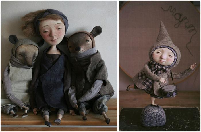 Забавные жители севера от художницы из Новосибирска