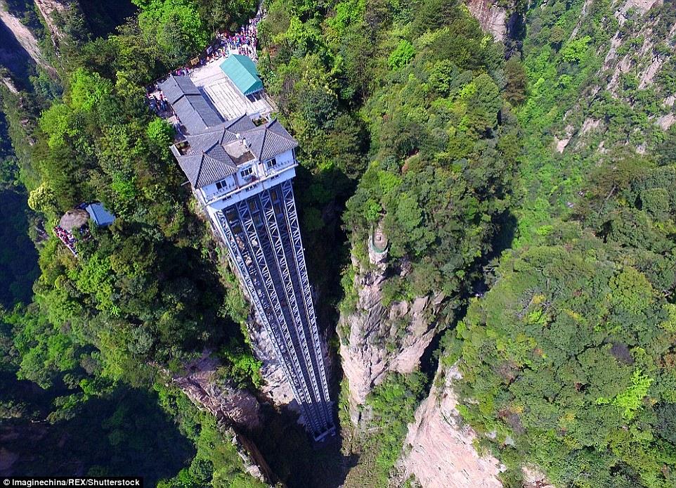 10 самых невероятных подъёмников в мире
