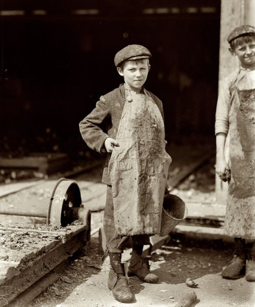 Американские дети начала 20-го века