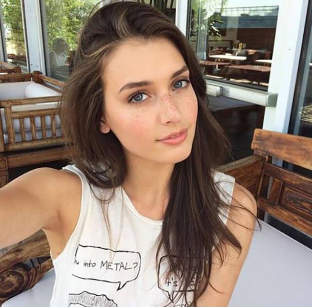 Девушки и их естественная красота
