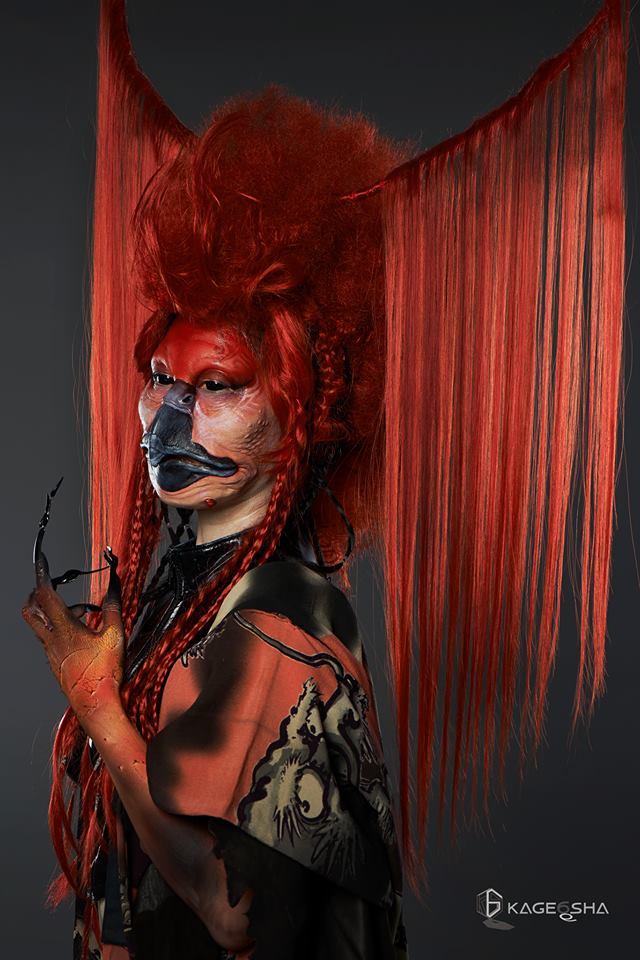 Фантастические творения от японского мастера бодиарта
