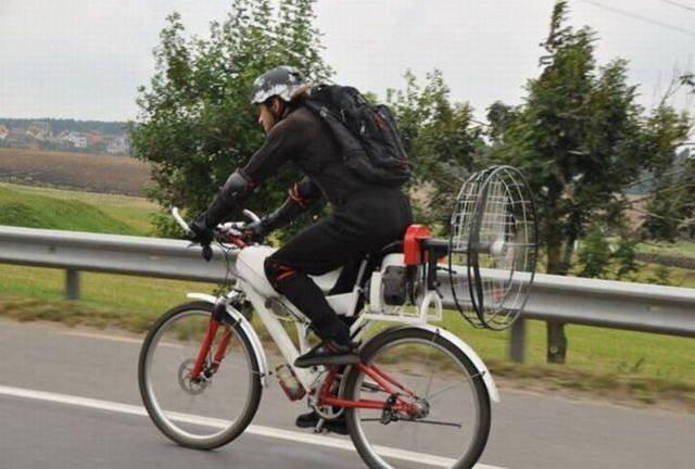 Необычные велосипеды и велосипедисты
