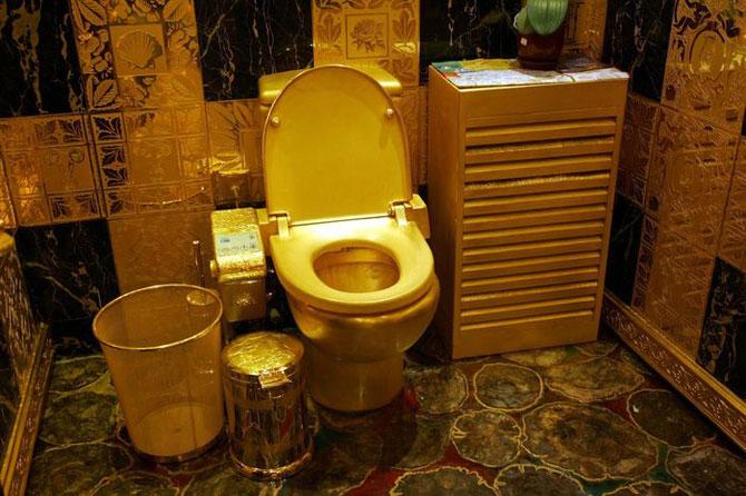 Самые дорогие и необычные принадлежности для ванной комнаты
