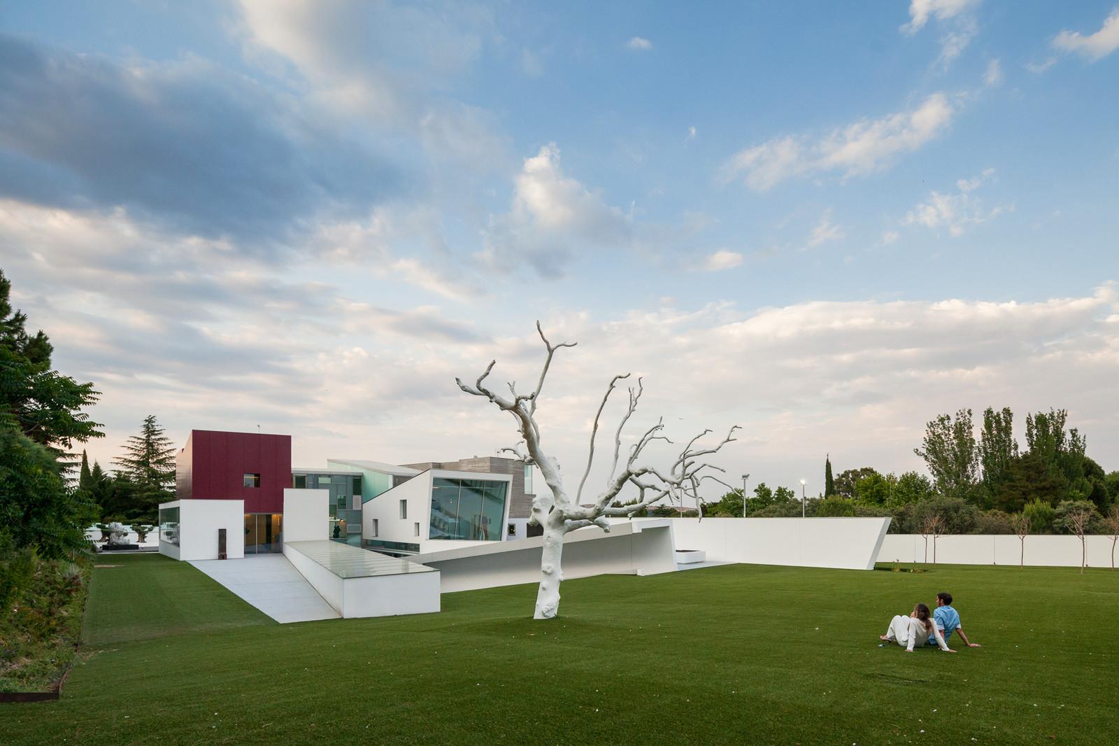 Дом известного спортсмена в Мадриде