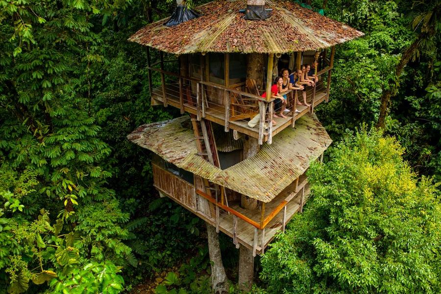 Один из самых причудливых отелей мира на Коста-Рике
