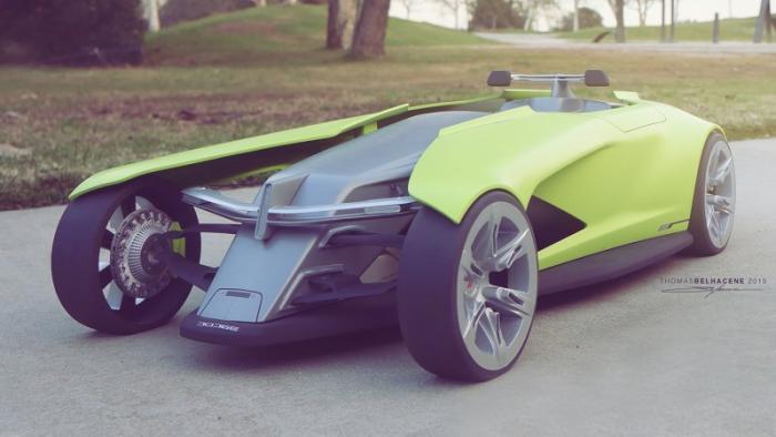 Osis — атомобиль будущего от Dodge