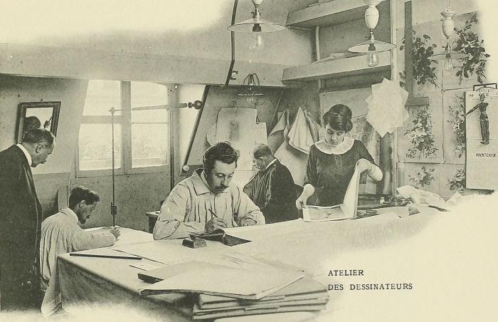 Парижская мода 100 лет назад