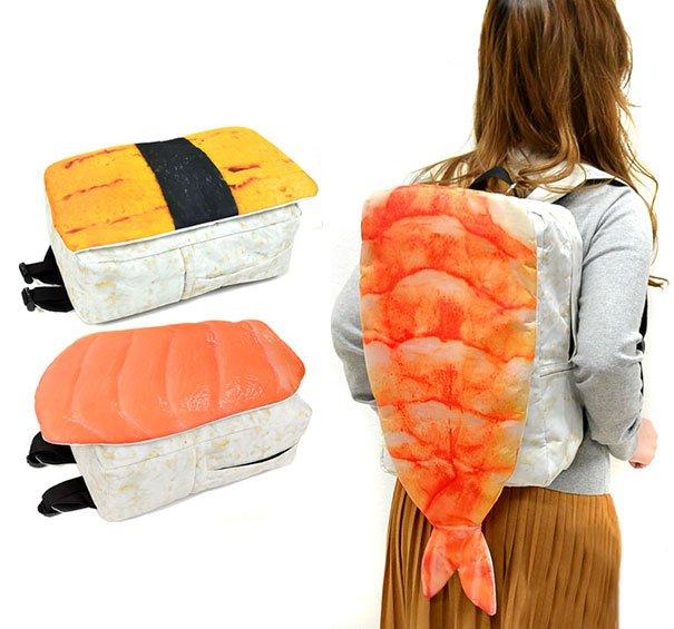 Рюкзаки в виде японских суши