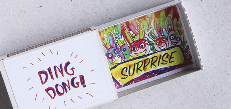 Спичечные коробки с сюрпризом внутри