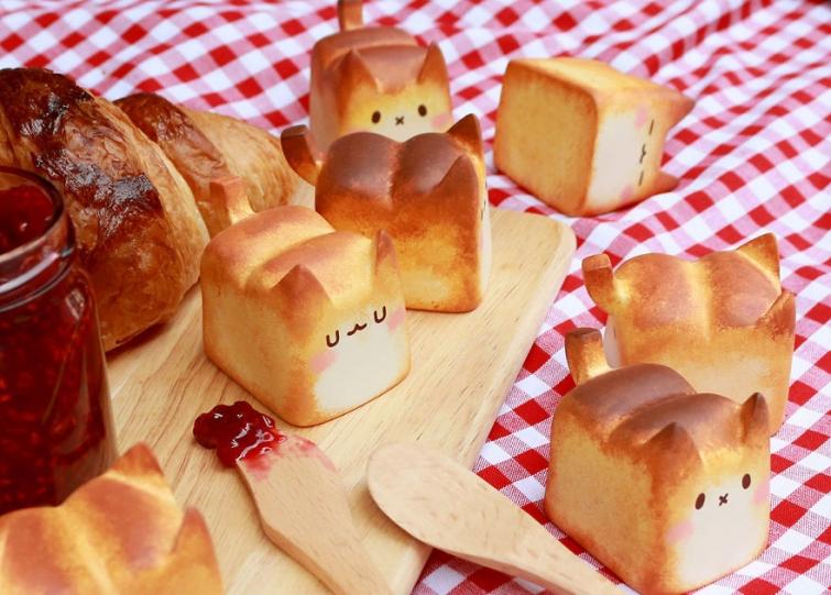 Хлебные котики, которых хочется съесть