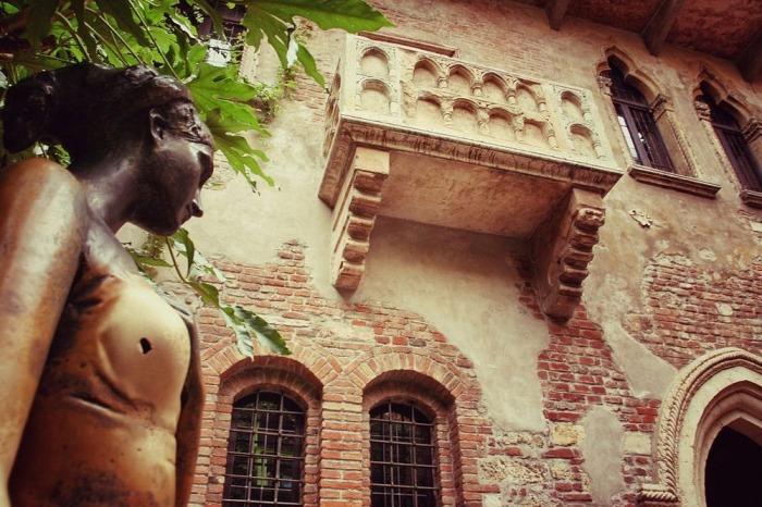 Дом Джульетты — самое романтическое место в Вероне