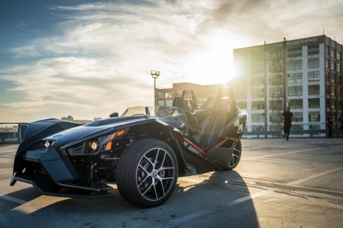 Интересные машины с тремя колесами