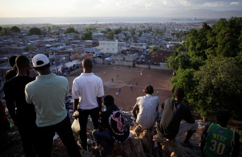 Повседневная жизнь в столице Гаити