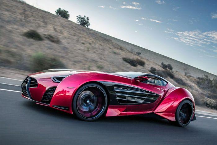 Самые яркие авто на выставке Monterey Car Week