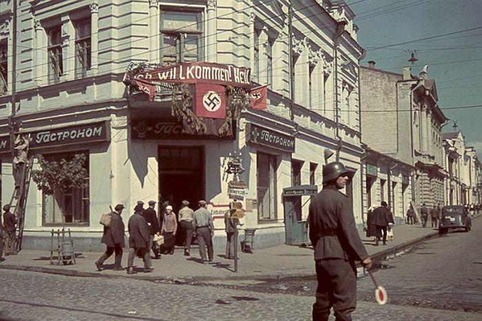 Советские города в годы немецкой оккупации