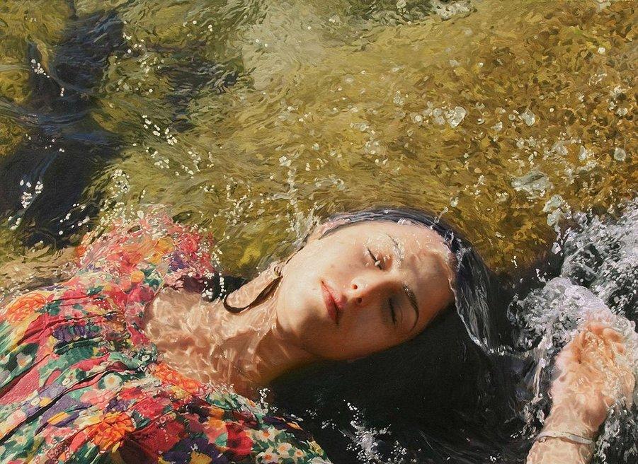 Гиперреалистичные женские портреты от Игаля Озери