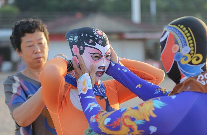 Китайские купальные костюмы фейскини