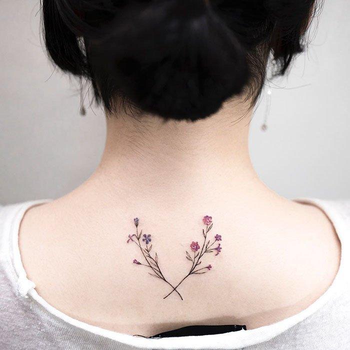 Минималистичные татуировки от Hongdam