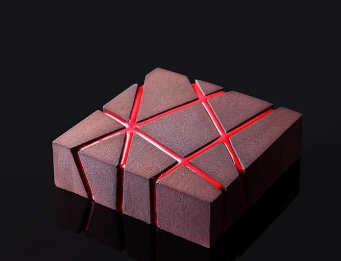 Невероятная геометрическая выпечка от украинского кондитера
