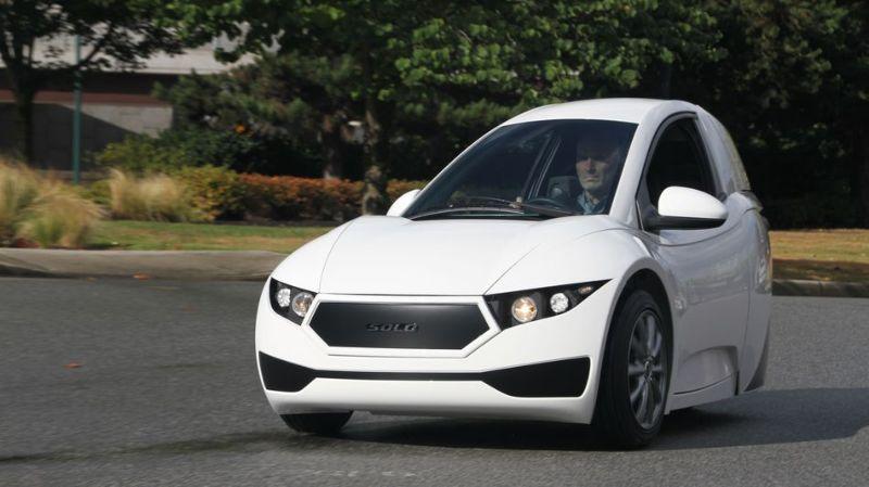Одноместный электромобиль: комфорт авто с габаритами мотоцикла
