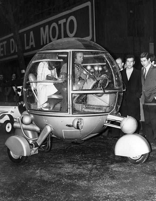 Странные и необычные ретроавтомобили