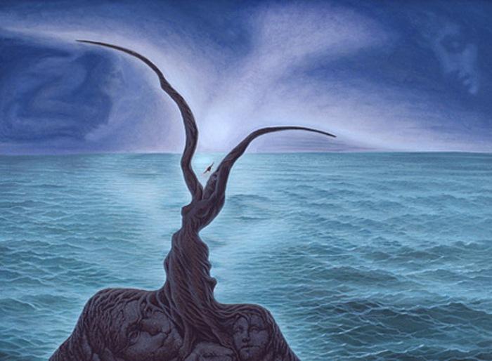 Удивительные метаморфозы от художника Октaвио Oкампо